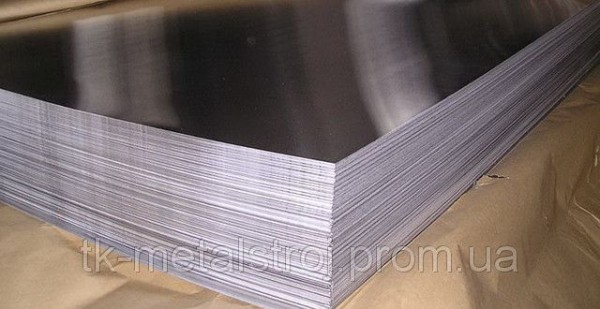 Лист нержавеющий 8,0х1250х2500 AISI 304 (08Х18Н10) поверхность N1
