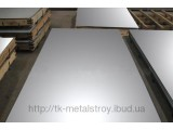 Лист нержавеющий AISI 304 поверхность 2В 1,0*1250*2500 мм