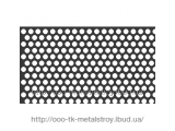 Лист нержавеющий перфорированный Don-and-Cross 4-12*12 0,8 мм 1,0*2,0 м