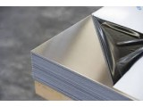 лист нержавеющий 0,4мм 0,4х1000х2000 0,4*1000*2000 пищевой AISI 304 немагнитный зеркальный в плёнке