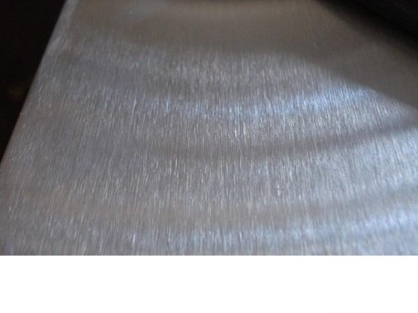 лист нержавеющий технический AISI 430 12Х17 0,8мм 0,8х1250х2500мм шлифованный в плёнке
