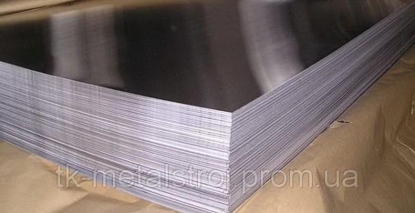 Лист нержавіючий 20,0 х1250х5000 AISI 321 ( 08Х18Н10Т ) поверхня N1