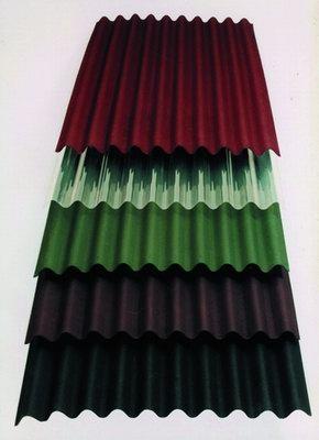 Лист ондулина(Onduline) купить в Харькове. Размер листа 0.95х2м. Цвет:красный, зеленый,коричневый. Доставка