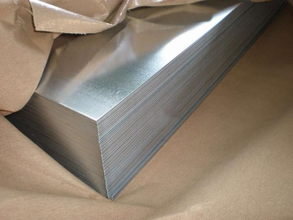 Лист оцинкованный 0.55х1250х2500 мм.