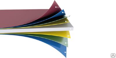 Лист оцинкованный с полимерным покрытием 0,45мм