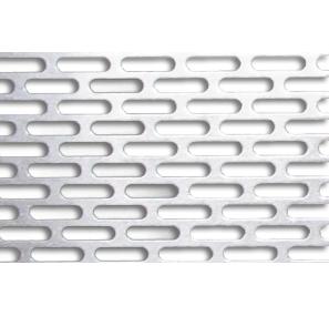 Лист перфорированный 0,5 мм с прямоугольными отверстиями 1*10 мм