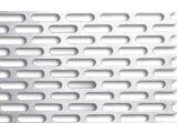 Лист перфорированный 0,5 мм с прямоугольными отверстиями 3,6*25 мм