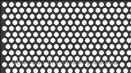 Лист перфорированный нержавеющий Don-and-Cross 4-12*12 0,8 мм 1,0*2,0 м
