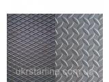 Фото  1 Лист рифленый нержавеющий AISI 304 1,0 (1,0х2,0) 2В листы нж нержавеющая сталь нержавейка цена 2202791