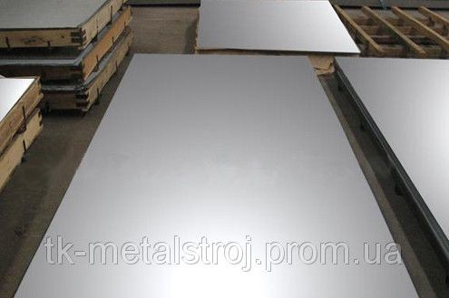 Лист з нержавіючої сталі 6,0 х1250х2500 AISI 430 (12Х17 ) поверхня N1