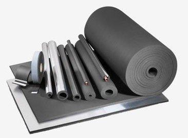 Фото  1 Листовая каучуковая изоляция Алюфом® PLAST R Товщмна, мм: 40 *** 1435625