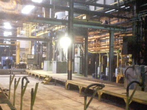 Литейное производство : Цеха литейные пр-ва точных отливок литьем по газифицируемым моделям мощностью от 500 тонн/год
