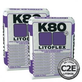 Литофлекс К80 клей для керамогранита 25 кг