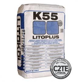 Литоплюс К55 клей для мозаики, белый 25 кг. Италия.