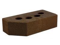 Литос кирпич гладкий пустотелый угловой шоколад