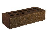 Литос кирпич колотый с фаской пустотелый шоколад