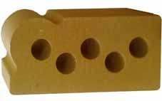 Литос-облицовочный кирпич-Фасонный (Капля, Карнизный, Полукруг)