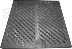 Ливнеприемная решетка- 500 х 500 х 30 мм.