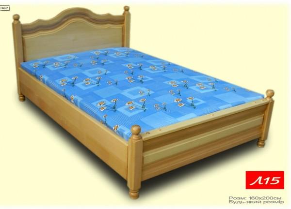 Ліжко з масиву(без матраса)