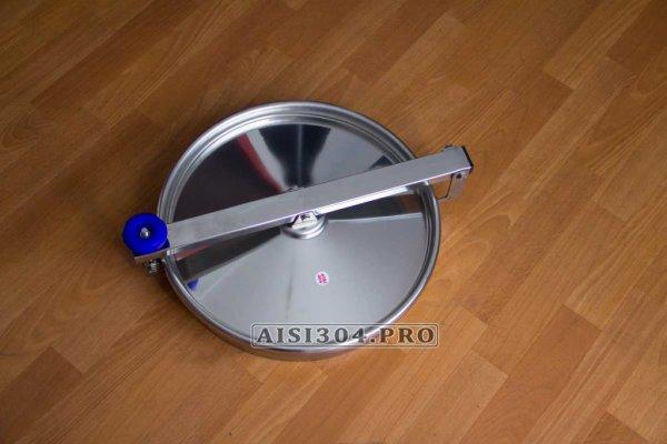 Фото 5 Люк круглий з нержавіючої сталі 400 мм 6023 під тиск 323338