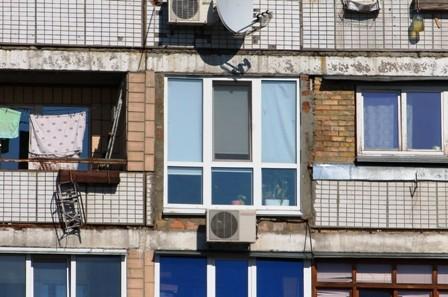 Лоджия от пола до потолка