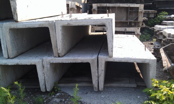 Лотки железобетонные Л 2д-8 (740*570*360) Вес 120 кг Доставка по Украине