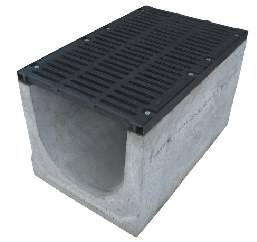 Лоток водоотводящий бетонный Н60, 123