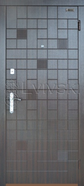 Двері вхідні Львівські Стандарт модель 213