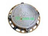 Люк чавунний важкий тип В із з/п (С250 Водоканал) с мех.оброботкой
