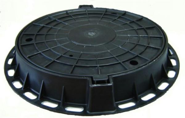 Люк чугунный канализационный средний размер 780/605/70 материал высокопрочный чугун
