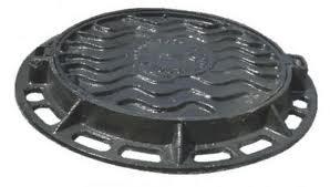 Люк канализационный чугунный тип С (12,5 тн)