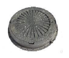 Люк канализационный полимерный чёрный, выдерживает нагрузку до 2,5т. Оптовым покупателям СКИДКИ!