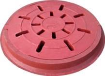 Люк канализационный полимерпесчаный дренажный