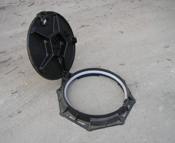 Люк канализационный ВЧШГ чугун D400,E600,F900