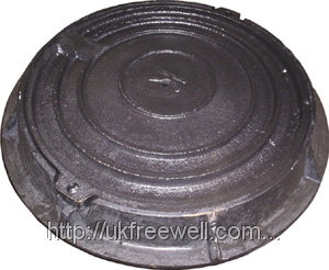Люк композитный канализационный Т (С250)