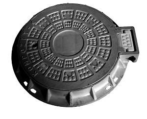 Люк композитный С (В125)Размеры: крышки-640мм, корпуса-815 х 775мм, h - 120мм, выдерживает нагрузку 12,5 т
