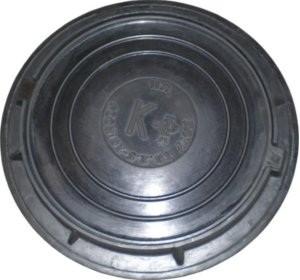 Люк легкий канализационный Размер ф. 770*90, крышка ф. 620*30