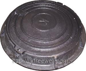 Люк-мини пластмасовый (канализационный) черний