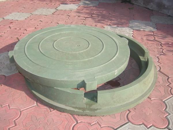 Люк полимерный (смотровой) ц до 1,5Т