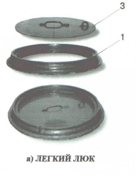 Люк связи тип Л и тип В ГТС