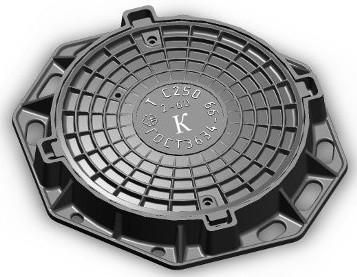 "Люк тяжелый типа""В-Л"" Вес комплекта:112 кг, Размеры:крышки-652 мм, корпуса-860х130мм, нагрузки 25т,"