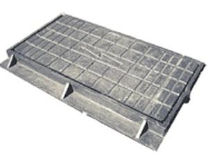 люки электротехнические Вес комплекта: 68 кг, Размеры: крышка-710х335мм, корпус-865х480х80 мм