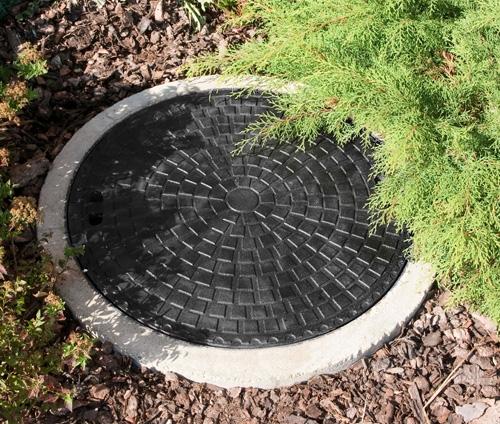 Люки канализационные легкие (А15, 1,5 тонн)