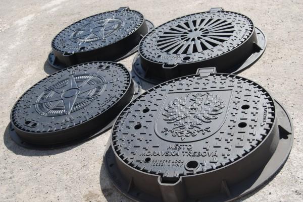 Люки канализационные с логотипом А15-F900
