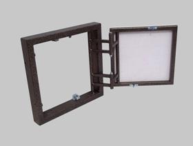 Люки-невидимки ревизионные ФРОНТАЛЬНО РАСПАШНОЙ для плитки с гладкой или полуматовой поверхностью.