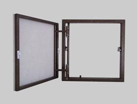 Люки-невидимки ревизионные НАЖИМНЫЕ для мозаики или плитки с шершавой поверхностью.