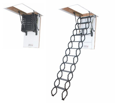 Металлическая чердачная лестница FAKRO LST (ФАКРО ЛСТ)