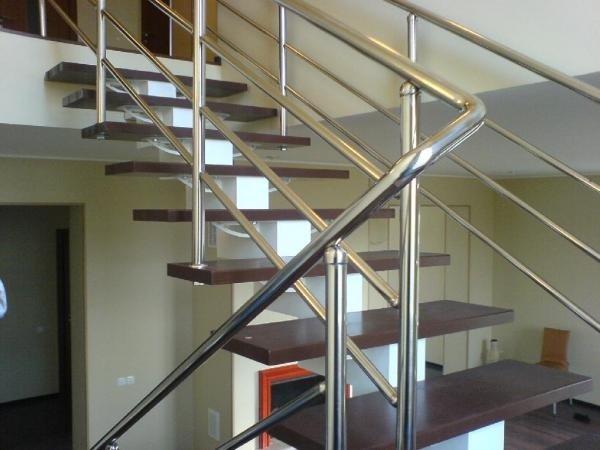 Фото 1 Лестницы из нержавеющей стали 328110