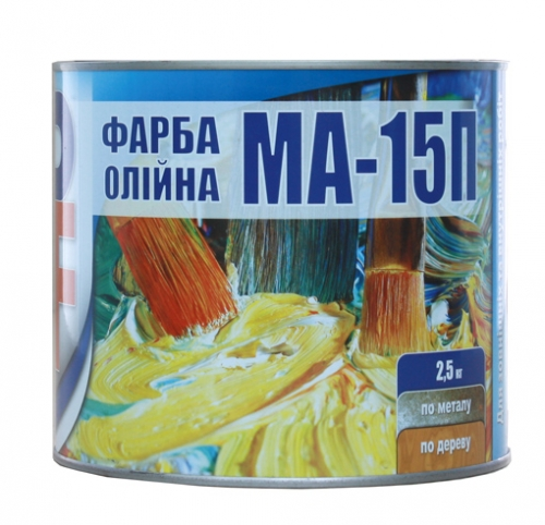 МА-15 краска масляная PanaFarb (8 цветов)