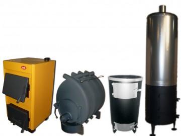 Магазин отопительного оборудования: котлы твердотопливные, бойлер-буржуйка, булерьяны, печи-каменки. Доставка по всей территории Украины от завода-производителя .